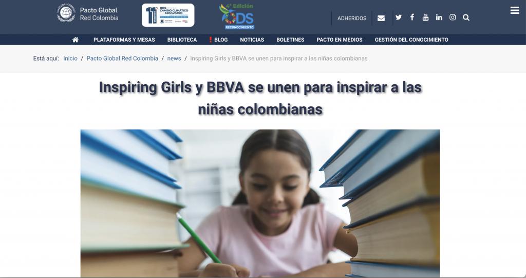 Inspiring Girls y BBVA
